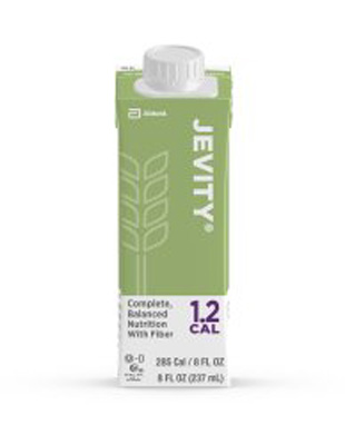 Oral Supplement Jevity 1.2 Cal with Fiber Unflavored 8 oz. Recloseable Tetra Carton Ready to Use