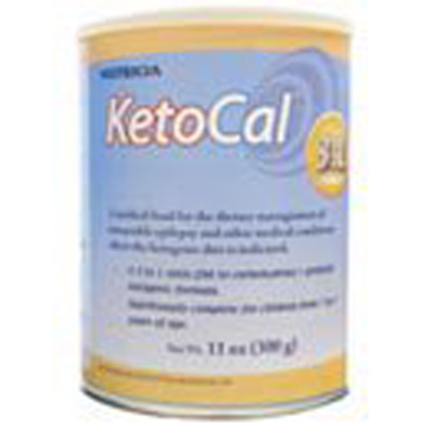 Oral Supplement KetoCal 3:1 Unflavored 300 Gram Can Powder