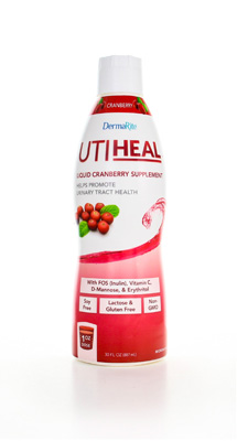 Oral Supplement UTIHeal Cranberry 30 oz. Bottle Ready to Use