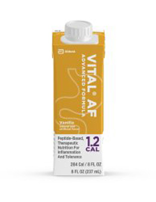 Oral Supplement Vital AF 1.2 Cal Vanilla 8 oz. Recloseable Tetra Carton Ready to Use