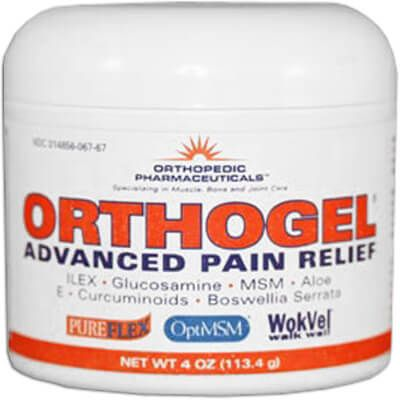 Orthogel Advanced Pain Relief Jar - 4 oz (12 Pack)