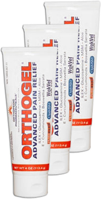 Orthogel Advanced Pain Relief Tube - 4 oz (3 Pack)