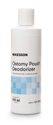 Ostomy Appliance Deodorant McKesson 8 oz., Squeeze Bottle, Unscented