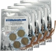 Roscoe Medical TENS Electrodes 1.25 inch Round, Tan Mesh Backed - 16 Pads