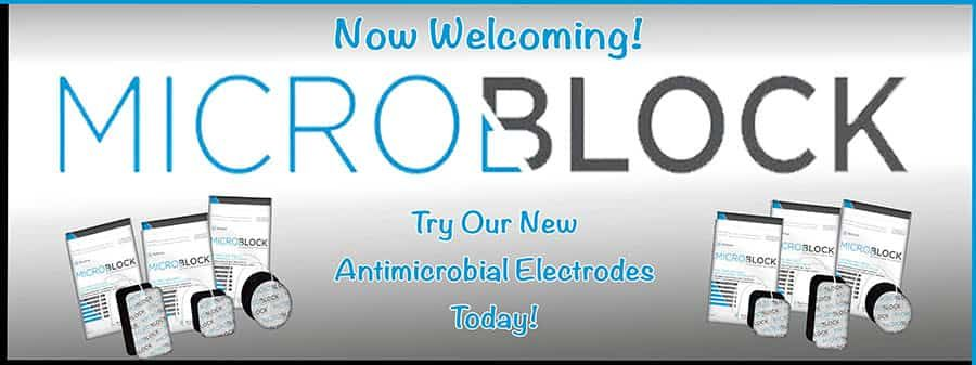 New MicroBlock Antimicrobial Electrodes!
