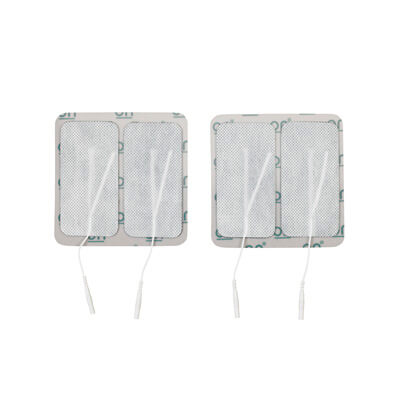 Drive Medical Oval Pre Gelled Electrodes 2 x 4.15 in oval for TENS Unit Model agf-103