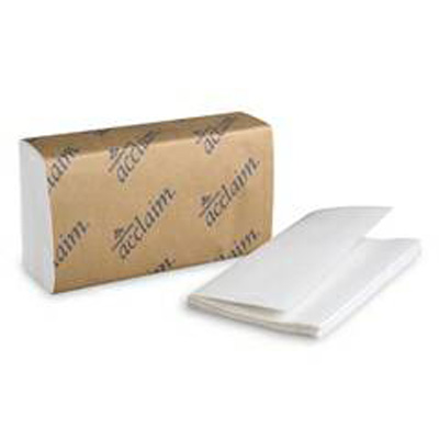 Paper Towel Acclaim Single-Fold 9-1/4 X 10-1/4 Inch - Case of 16