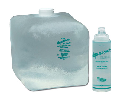 Parker Aquasonic Clear Ultrasound Transmission Gel with Dispenser- 5 L