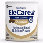 EleCare Jr Chocolate 14.1 oz. Can Powder Pediatric Oral Supplement - Case of 6