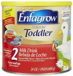 Enfagrow Pediatric Oral Supplement Toddler Transitions Soy Unflavored 20 oz. Can Powder - Case of 4