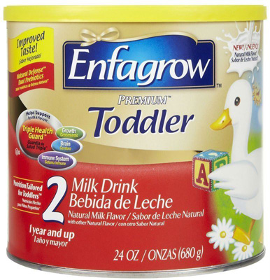 Pediatric Oral Supplement Enfagrow Toddler Transitions Soy Unflavored 20 oz. Can Powder
