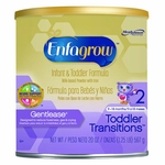 Enfagrow Pediatric Oral Supplement Toddler Transitions Gentlease Unflavored 20 oz. Can Powder - Case of 4