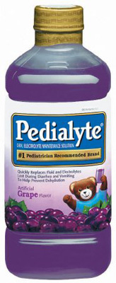Pediatric Oral Supplement Pedialyte Grape 1000 mL Bottle Ready to Use