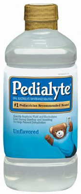 Pediatric Oral Supplement Pedialyte Unflavored 1000 mL Bottle Ready to Use