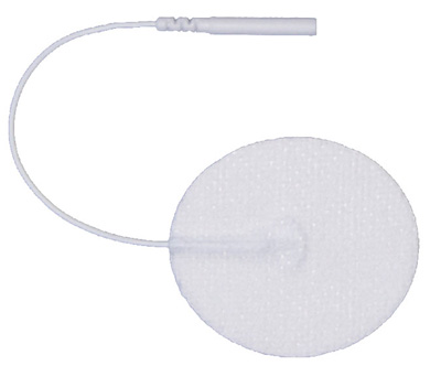Pepin AdvanTrode Essential Electrode, White Spunlace, 2 in Round - 4 Pads
