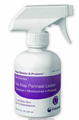 Perineal Wash Baza Cleanse and Protect Lotion 8 oz. Pump Bottle Unscented
