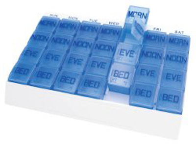 Pill Organizer Medi Tray 7 Day