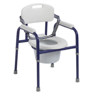 Drive Medical Pinniped Pediatric Commode, Blue