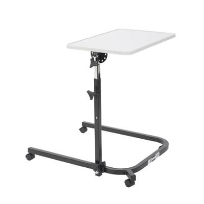 Drive Medical Pivot and Tilt Adjustable Overbed Table Tray 13000