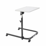 Drive Medical Pivot and Tilt Adjustable Overbed Table Tray Model 13000