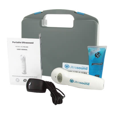 PMT Portable Ultrasound PM2000 Unit with AC adapter