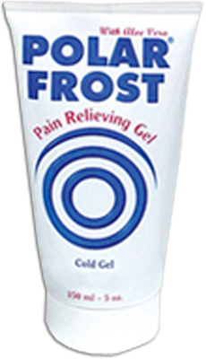 Polar Frost Pain Relief Gel - 5 oz - 6 bottles