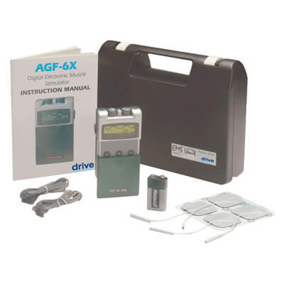 Drive Medical Portable Digital EMS with Timer and Carrying Case Model agf-6x