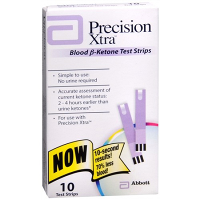 Precision Xtra Ketone Test Strips 10ct