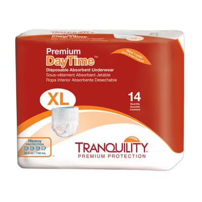 Premium DayTime Disposable Absorbent Underwear - X-Large - 2107