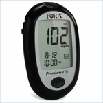 Fora Premium V10 Blood Glucose Monitoring System, Meter Only