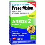 PreserVision Areds 2 Eye Vitamin with Lutein Supplement, 226 mg Strength Capsule 120 per Bottle