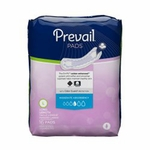 Prevail® Bladder Control Pads, Moderate/Extra Coverage 11 in - Case of 144 (9 x 16ea)