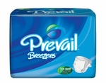 Prevail Breezers Adult Briefs, Large 45 - 58 in - 72 cs (4x18ea) PVB-013