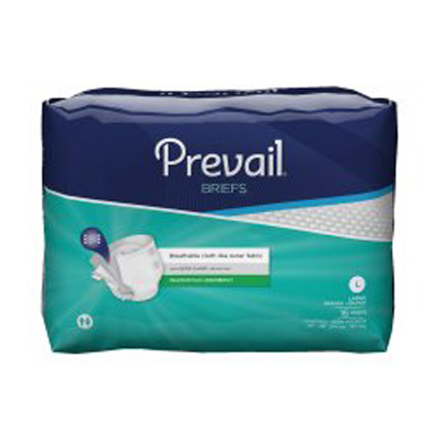 Prevail Premium Briefs, Large 45-58 - 64 cs (4x16ea)