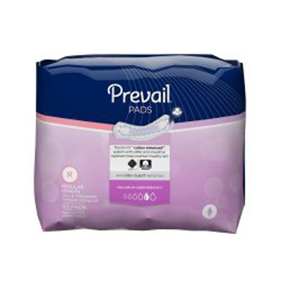 Prevail Ultra Bladder Control Pads - Case of 192 (4x48ea)