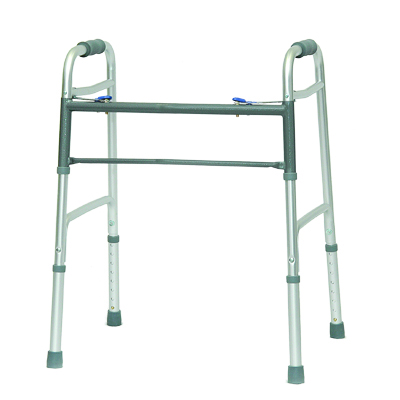 ProBasics Aluminum Bariatric Walker 2 Button w/o wheels 500 lb Weight Capacity WKABN2B