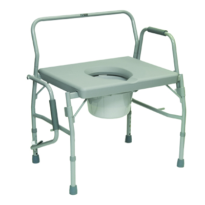 ProBasics Bariatric Drop Arm Commode, 650lb Weight Capacity BSBDAC