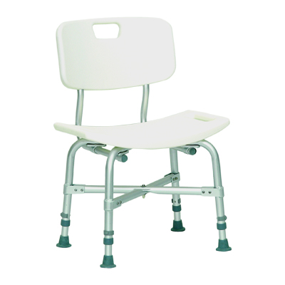 ProBasics Bariatric Shower Chair with Back, 550lb Weight Capacity BSBCWB