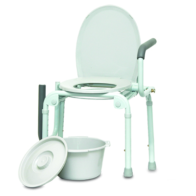 ProBasics Drop Arm Commode, 300lb Weight Capacity BSDAC