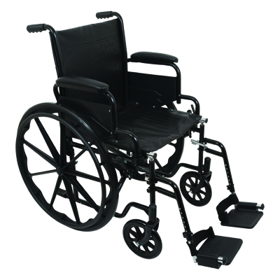 ProBasics K1 Standard Wheelchair, 20 in x 16 in WC12016DS