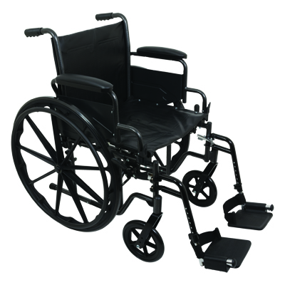 ProBasics K2 Standard Hemi Wheelchair, 18 x 16 in WC21816DS