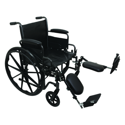 ProBasics K2 Standard Hemi Wheelchair, 20 in x 16 in WC22016DE