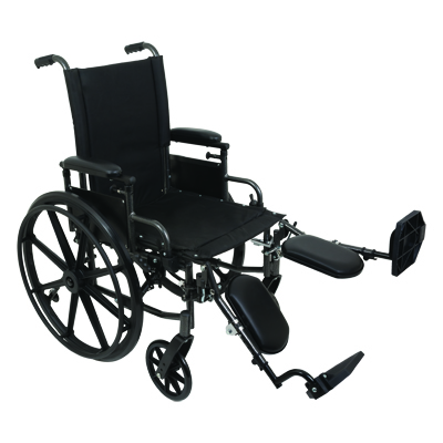 ProBasics K4 High Strength Wheelchair, 16 in x 16 in WC41616DE