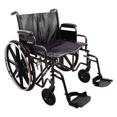 ProBasics K7 Extra Heavy Duty Wheelchair, 24 in x 18 in WC72418DS