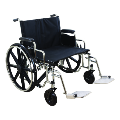ProBasics K7 Extra Heavy Duty Wheelchair, 26 x 20 in, 500lb Weight Capacity WC72620DS