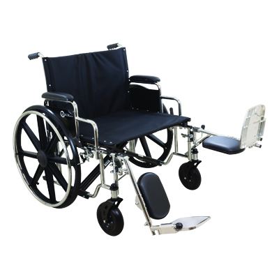ProBasics K7 Extra Heavy Duty Wheelchair, 28 in x 20 in, 600lb Weight Capacity WC72820DE