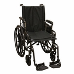 "ProBasics Onyx K4 Wheelchair - 16"" with Swing-Away Footrests"