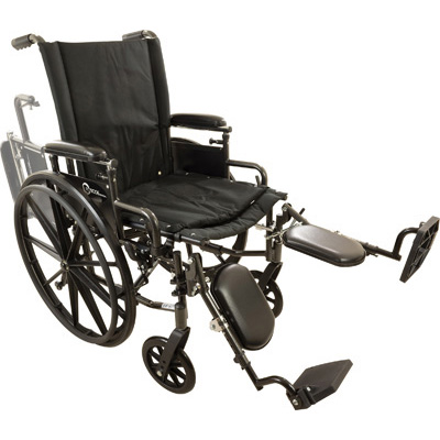 "ProBasics Onyx K4 Wheelchair - 18"" with Elevating Legrests"