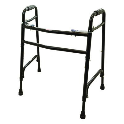 ProBasics Steel Bariatric Walker 2Button w/out wheels 600 lb Weight Capacity WKSBN2B