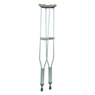 ProBasics Tall Adult Aluminum Crutches 300 lb Weight Capacity CRAT